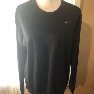 Nike Black Long Sleeve Shirt